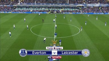 Full match: Everton vs Leicester City