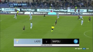 Full match: Lazio vs Napoli