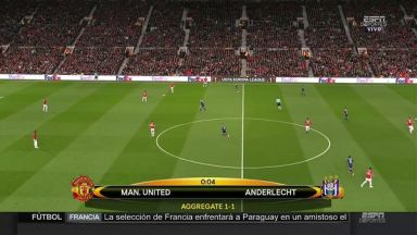 Full match: Manchester United vs Anderlecht