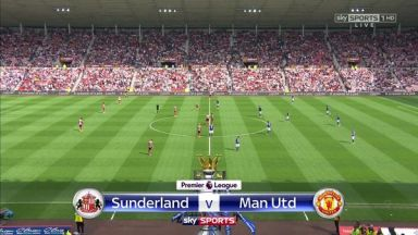 Full match: Sunderland vs Manchester United