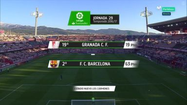 Full match: Granada vs Barcelona