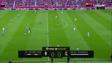 Full match: Sporting Gijon vs Real Madrid