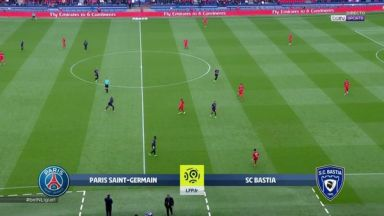 Full match: PSG vs Bastia