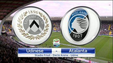 Full match: Udinese vs Atalanta
