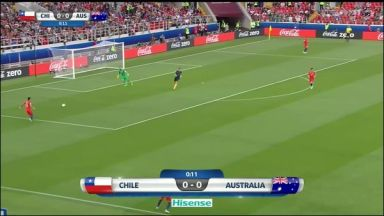 Full match: Chile vs Australia