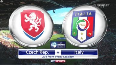 Czech Republic U21 vs Italy U21