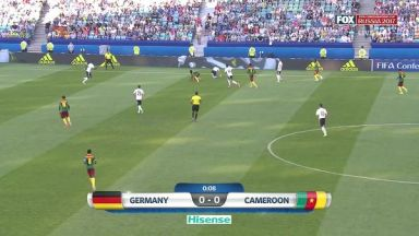 Full match: Germany vs Cameroon