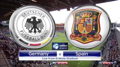 Full match: Germany U21 vs Spain U21