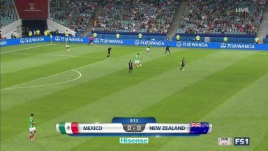 Full match: Mexico vs New Zealand
