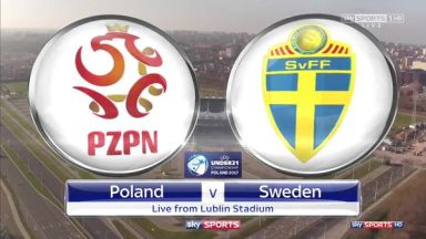 Full match: Poland U21 vs Sweden U21