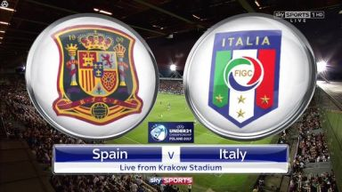 Full match: Spain U21 vs Italy U21
