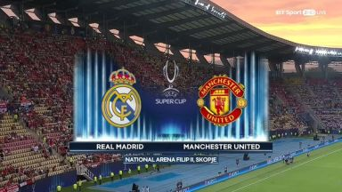 Full match: Real Madrid vs Manchester United
