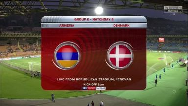Full match: Armenia vs Denmark