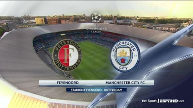 Full match: Feyenoord vs Manchester City