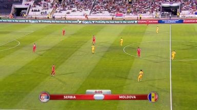 Full match: Serbia vs Moldova