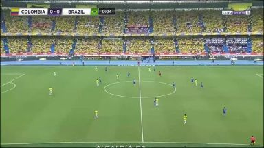 Full match: Colombia vs Brazil