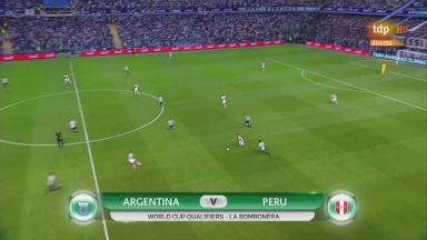 Full match: Argentina vs Peru