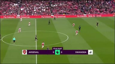 Full match: Arsenal vs Swansea City