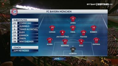 Full match: Celtic vs Bayern Munich