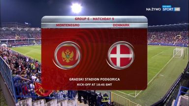 Full match: Montenegro vs Denmark