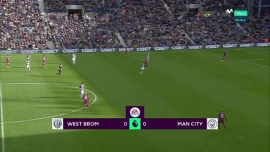 Full match: West Bromwich Albion vs Manchester City
