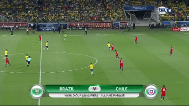 Full match: Brazil vs Chile