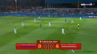 Full match: Fuenlabrada vs Real Madrid