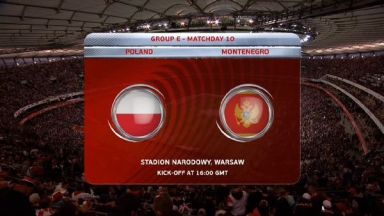 Full match: Poland vs Montenegro