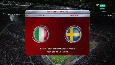 Full match: Italy vs Sweden