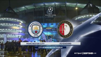 Full match: Manchester City vs Feyenoord