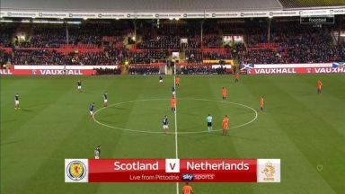 Full match: Scotland vs Netherlands