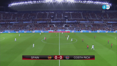 Full match: Spain vs Costa Rica