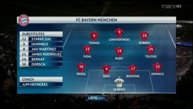 Full match: Anderlecht vs Bayern Munich
