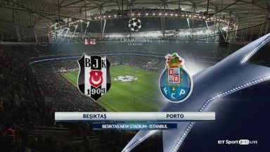 Full match: Besiktas vs Porto