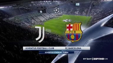Full match: Juventus vs Barcelona