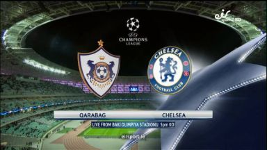 Full match: Qarabag vs Chelsea