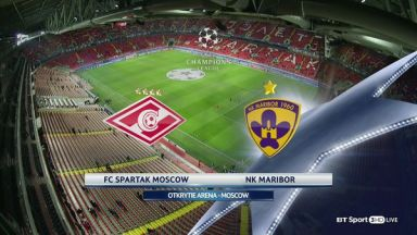 Full match: Spartak Moskva vs Maribor