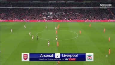 Full match: Arsenal vs Liverpool