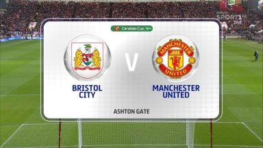 Full match: Bristol City vs Manchester United
