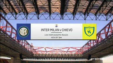 Full match: Internazionale vs Chievo