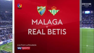 Full match: Malaga vs Real Betis
