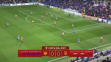Full match: Lleida Esportiu vs Atletico Madrid