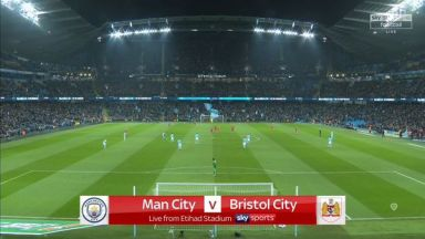 Full match: Manchester City vs Bristol City