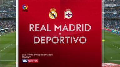 Full match: Real Madrid vs Deportivo La Coruna