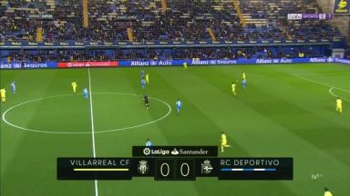 Full match: Villarreal vs Deportivo La Coruna