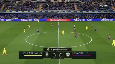 Full match: Villarreal vs Levante