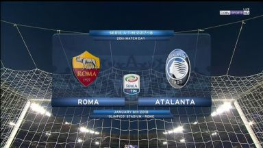 Full match: AS Roma vs Atalanta