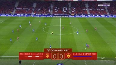 Full match: Atletico Madrid vs Lleida Esportiu