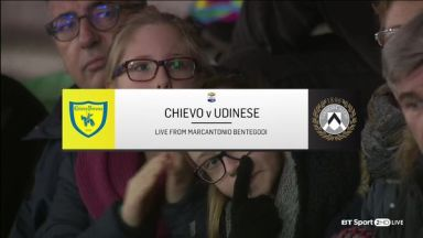 Full match: Chievo vs Udinese
