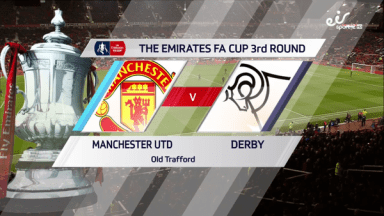 Full match: Manchester United vs Derby County